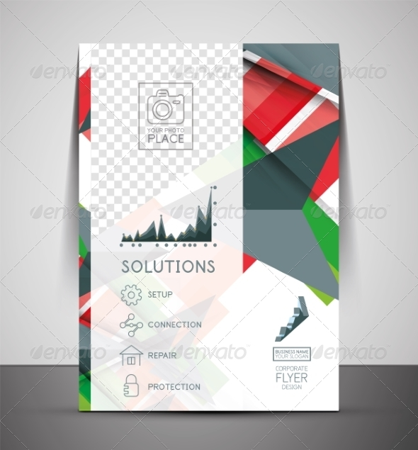 GraphicRiver CMYK Business Corporate Flyer Template 7458725