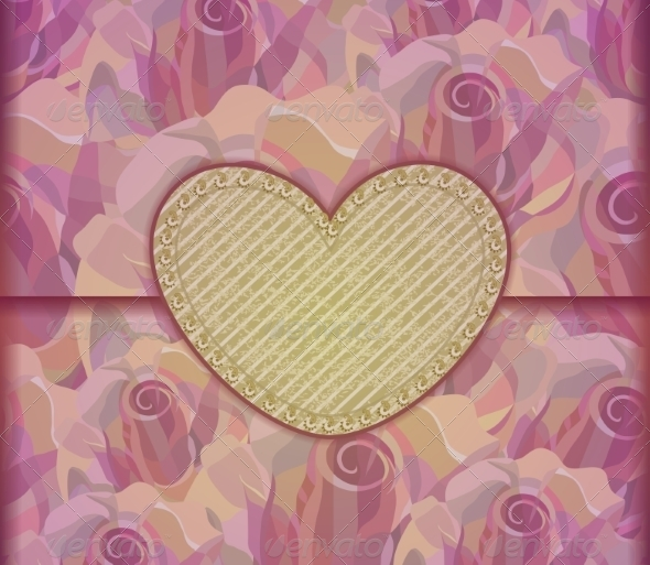 GraphicRiver Love Letter Valentine Background 7459008