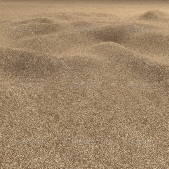 3DOcean Plain Desert Sand Seamless Ground Texture 7459115