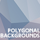 10 Polygon Abstract Backgrounds