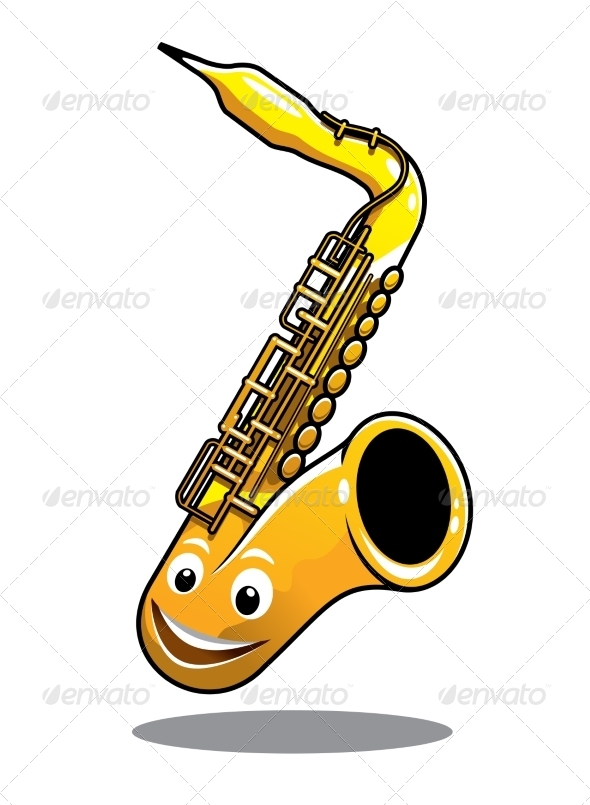 GraphicRiver Happy Brass Saxophone 7459538