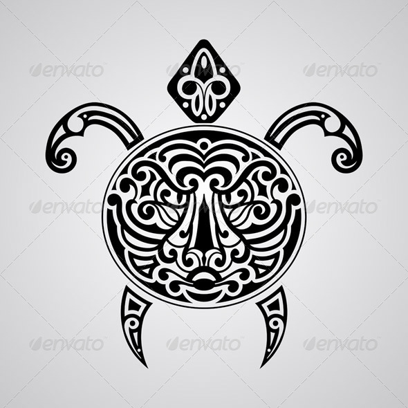 GraphicRiver Vector Tortoise 7459981