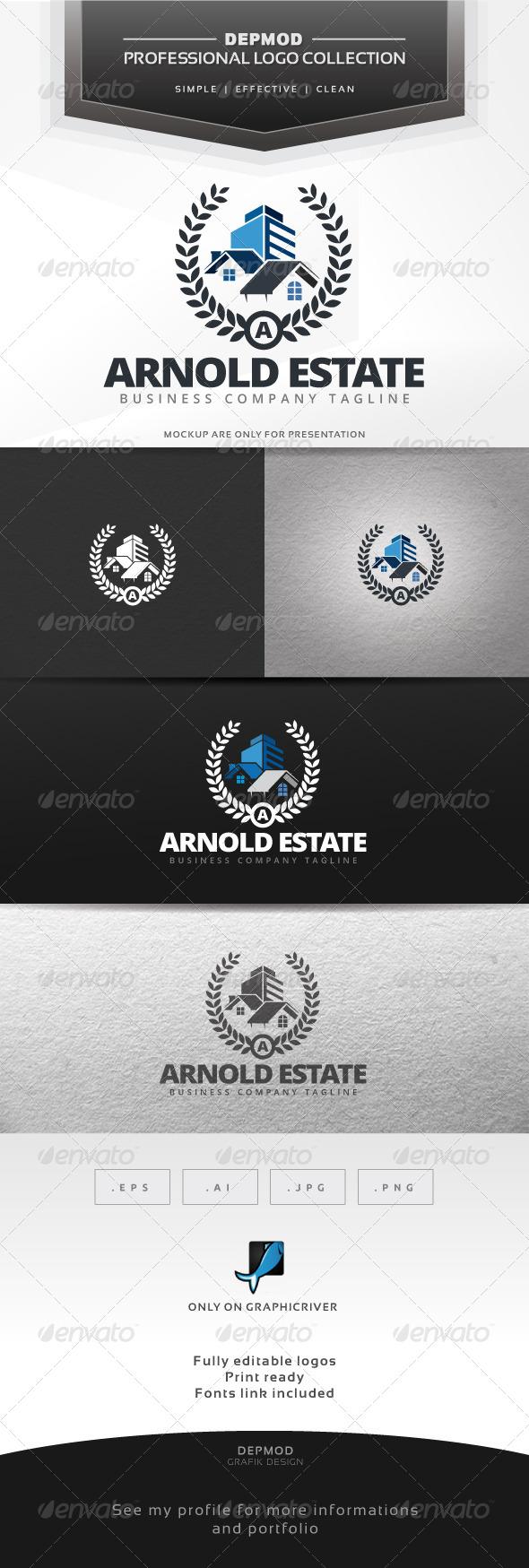 GraphicRiver Arnold Estate Logo 7460229