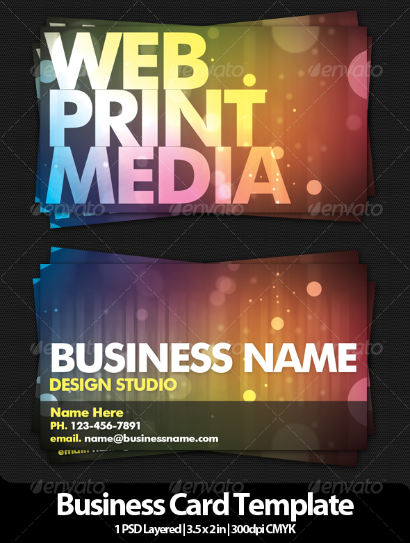 Design Studio Business Card V2 - Creative Business Cards