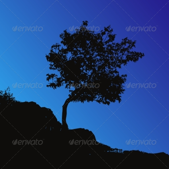 GraphicRiver Tree Backgound 7461357