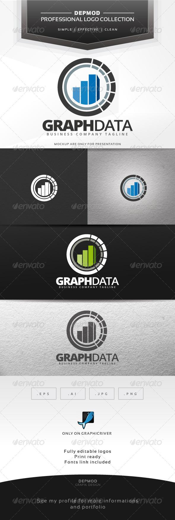 GraphicRiver Graph Data Logo 7461367