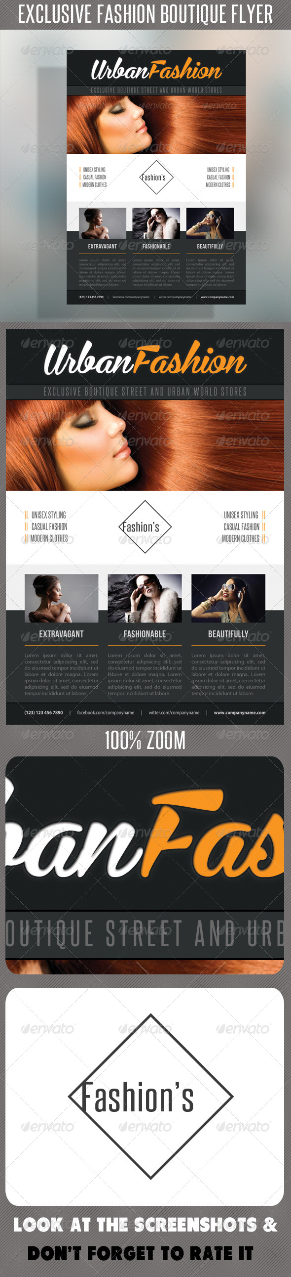 GraphicRiver Fashion Product Flyer 50 7462068