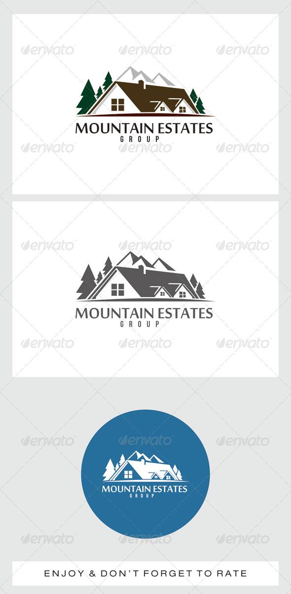 GraphicRiver Mountain Estates Logo 7462138