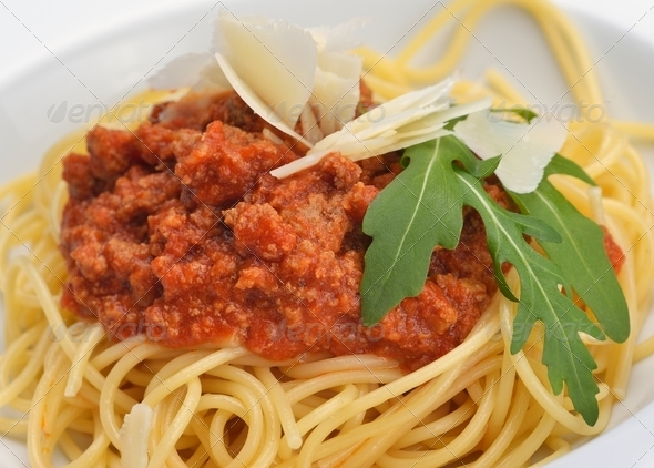Italian spaghetti - Stock Photo - Images