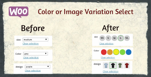 Woocommerce Color or Image Variation Select - CodeCanyon Item for Sale