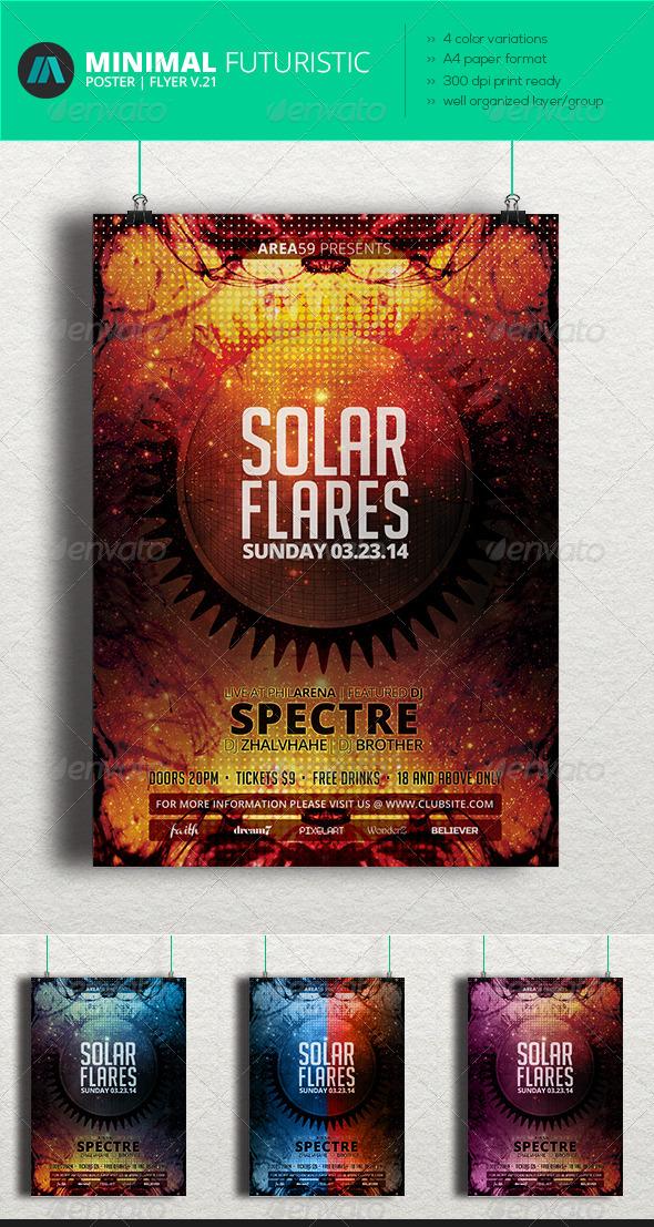 GraphicRiver Minimal Futuristic Poster Flyer V.21 7463670