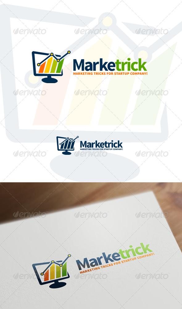 GraphicRiver Marketrick Marketing Business & Financial Logo 7463679