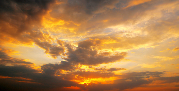 Sunset And Clouds 8