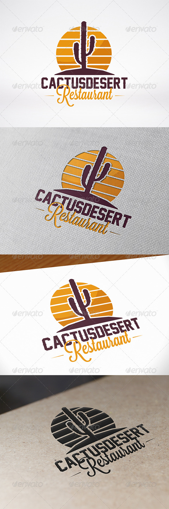GraphicRiver Desert Logo Template 7464805