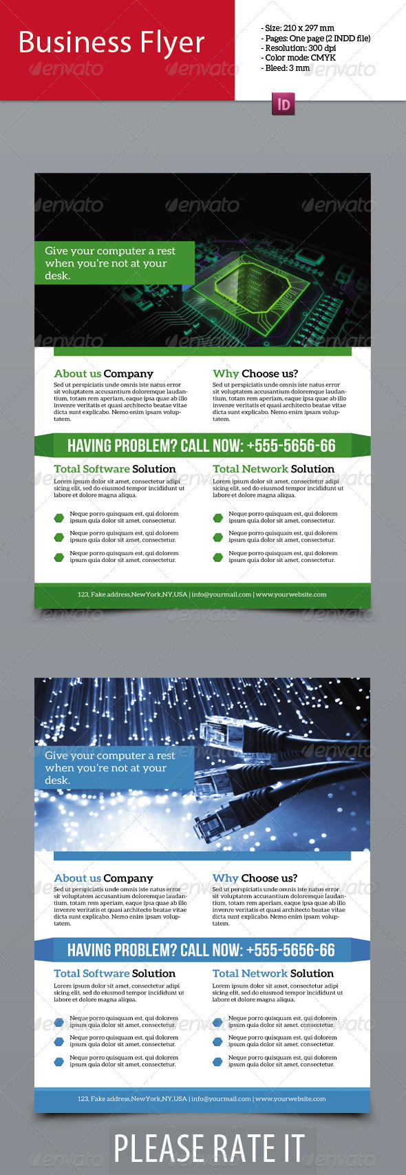 GraphicRiver Software Solution Flyer 7465574