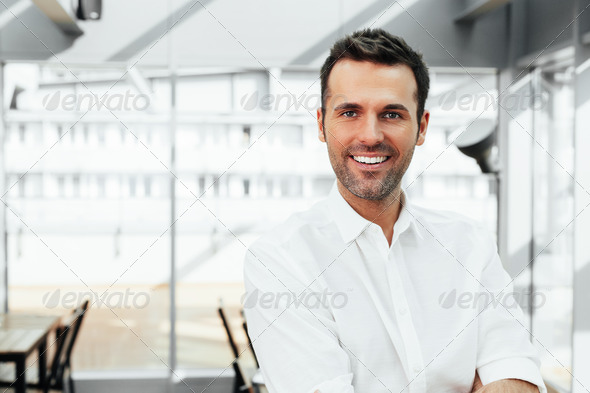 Satisfied with the achievements - Stock Photo - Images
