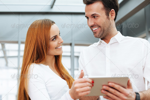 Business apps really work - Stock Photo - Images
