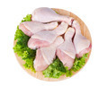 Raw Chicken Legs and Salad - PhotoDune Item for Sale