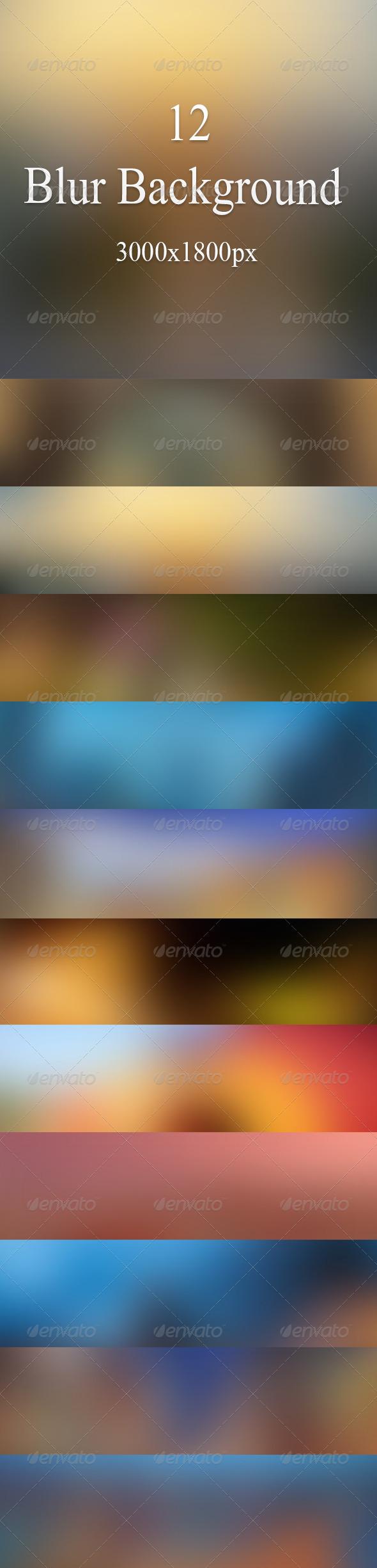 GraphicRiver Background Blur 7466444
