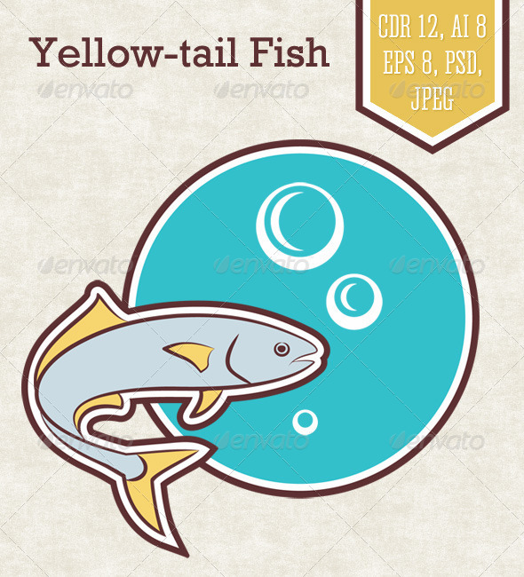 GraphicRiver Yellow-Tail Fish 7466822