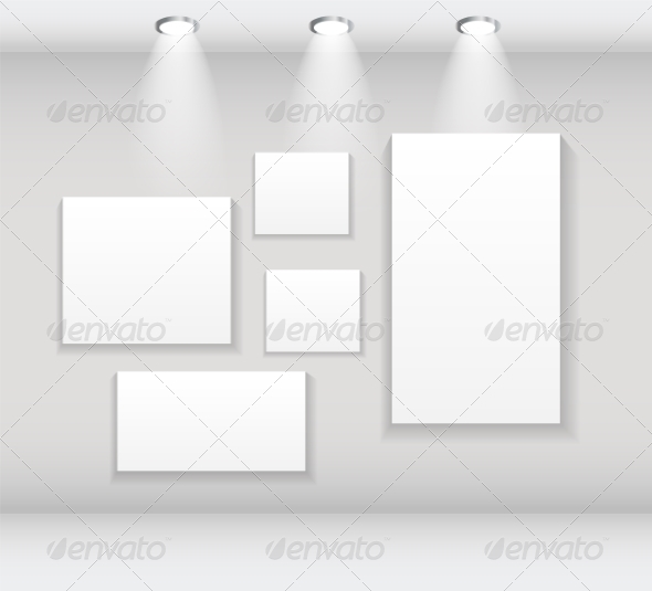 GraphicRiver Frames on Wall 7466952