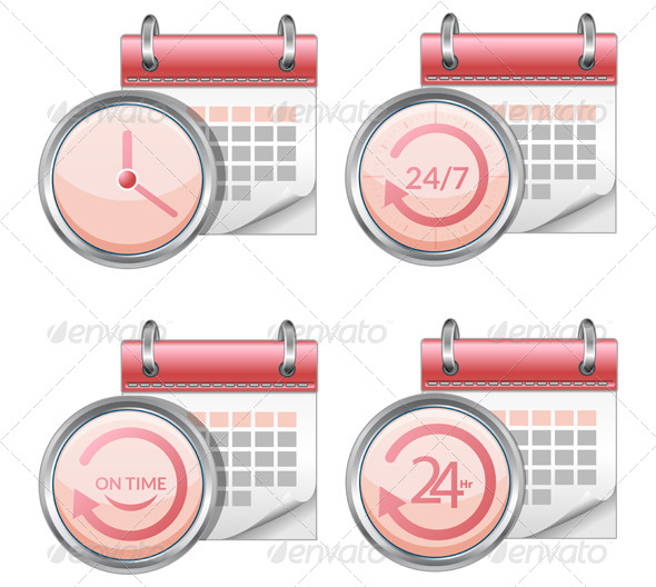GraphicRiver Calender Organizer Illustration 7466957
