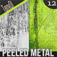 Peeled Metal Textures | Backgrounds - GraphicRiver Item for Sale