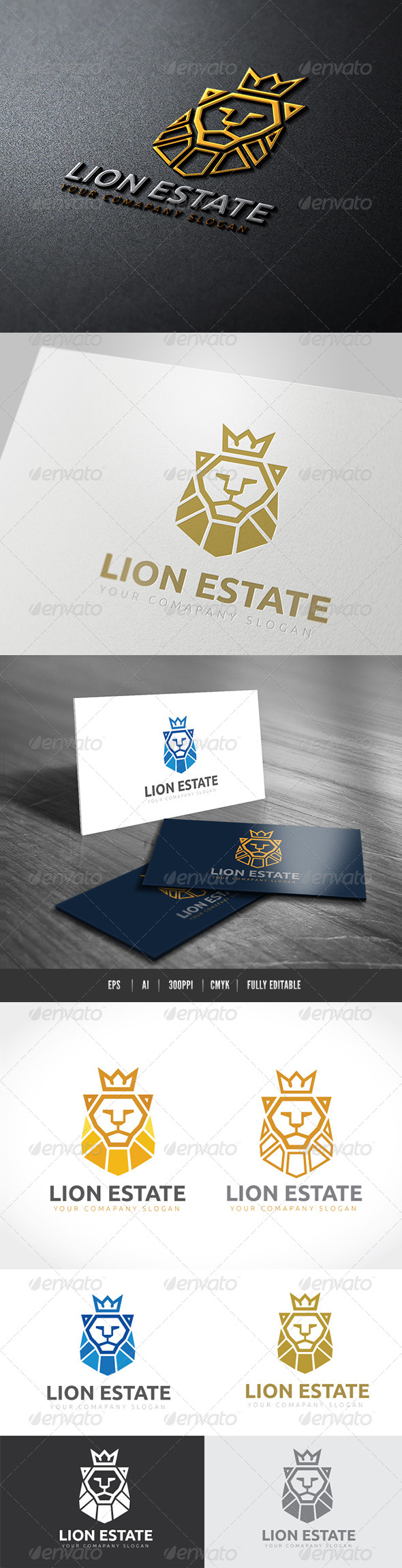 GraphicRiver Lion Estate 7468418