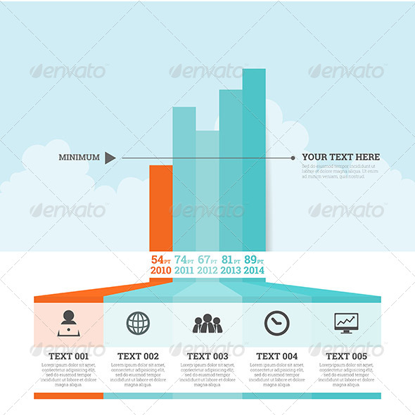 GraphicRiver Graphic Bar Infographic Elements 7452551