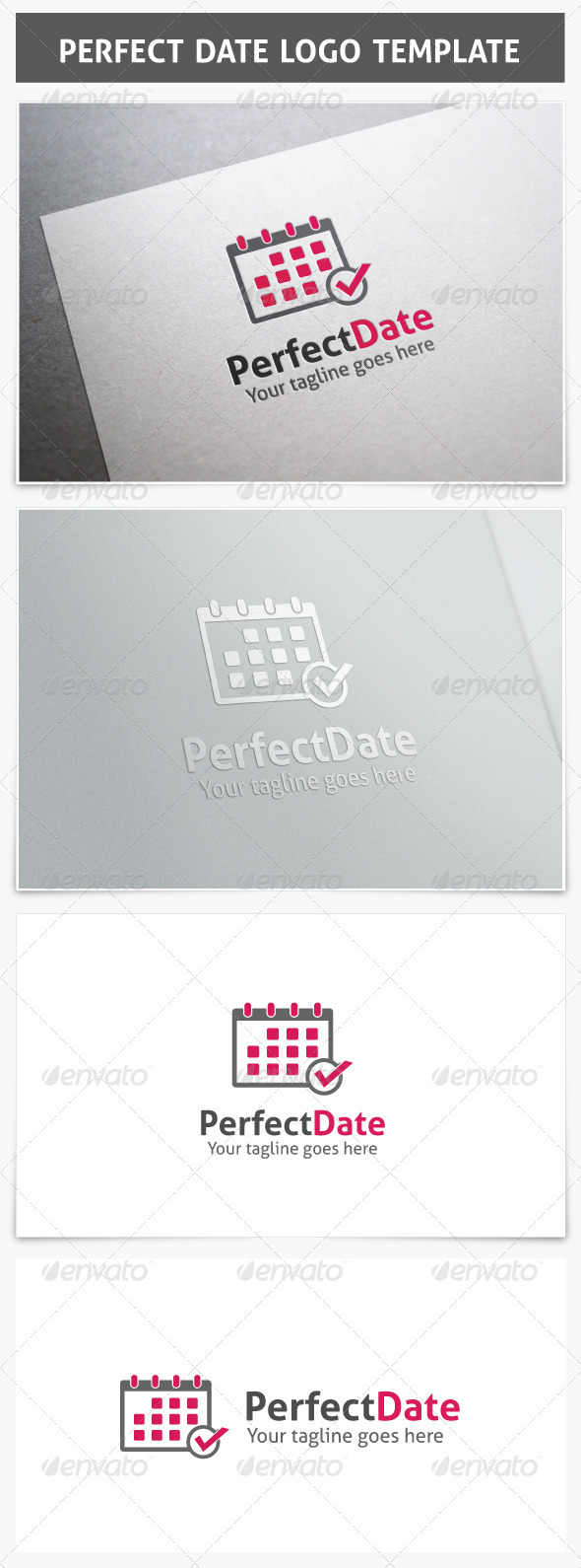 GraphicRiver Perfect Date Logo 7469023