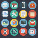 Flat Icons for Web and Applications Set 1 - GraphicRiver Item for Sale