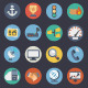 Flat Icons for Web and Applications Set 3