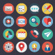 Flat Icons for Web and Applications Set 4 - GraphicRiver Item for Sale