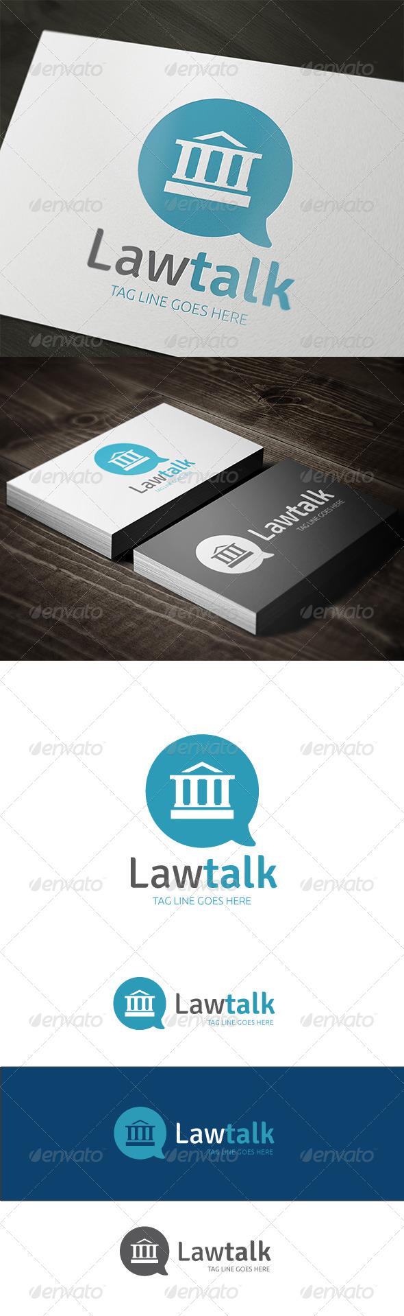 GraphicRiver Law Talk 7469608