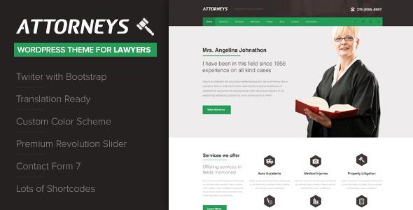 Attorney - Corporate Wordpress Theme