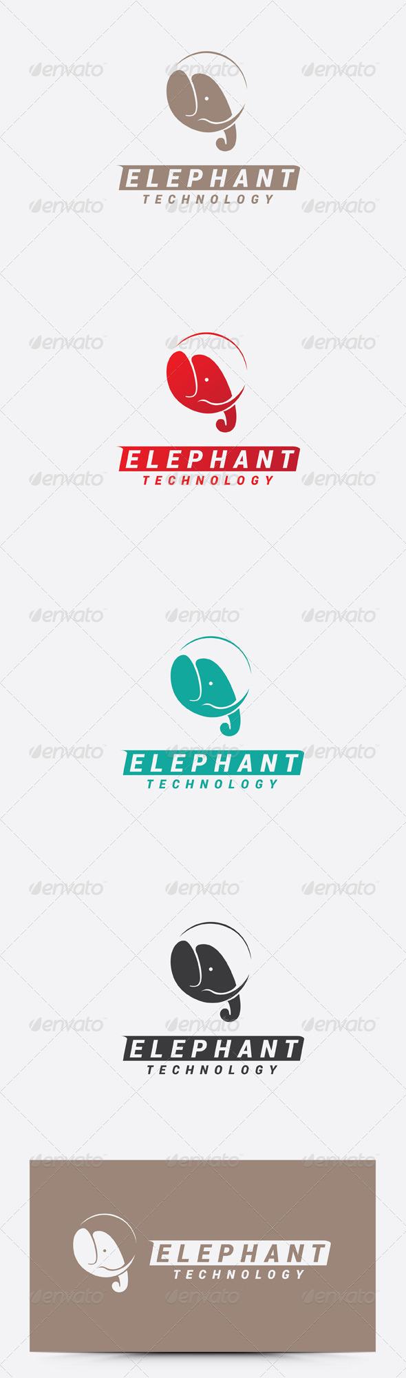GraphicRiver Elephant Logo 7470502