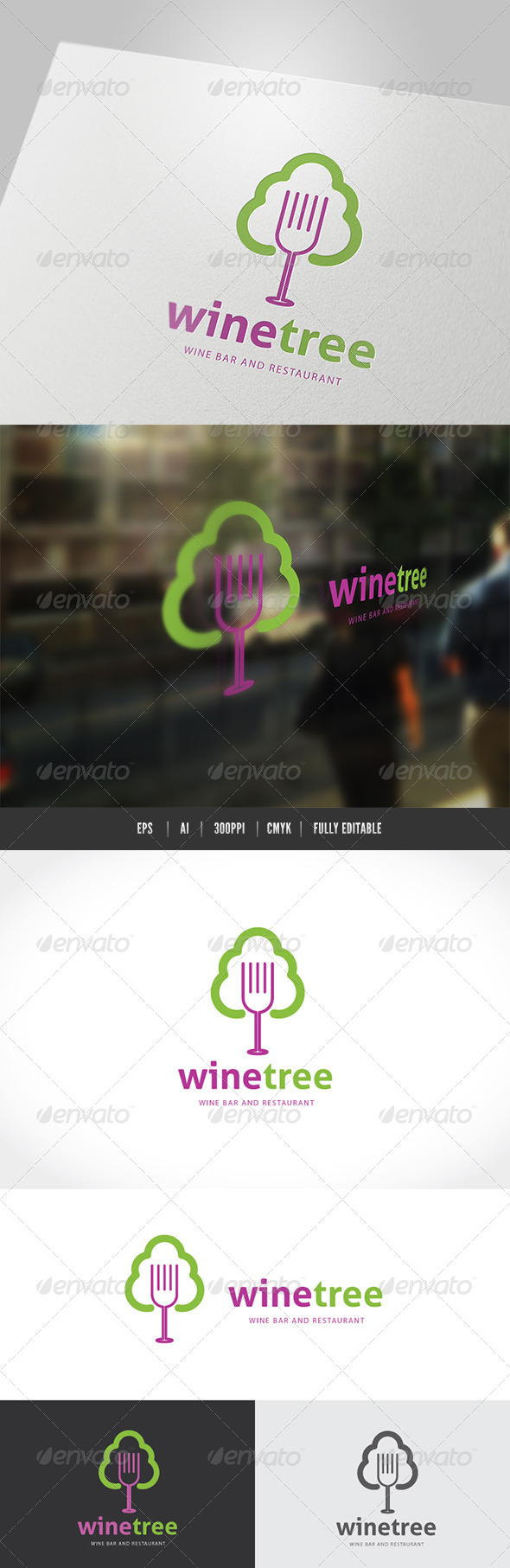 GraphicRiver Wine Tree 7470506