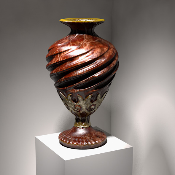 3DOcean Deco Vase #3 706104