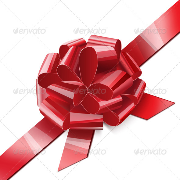 GraphicRiver Bow Red 7470728