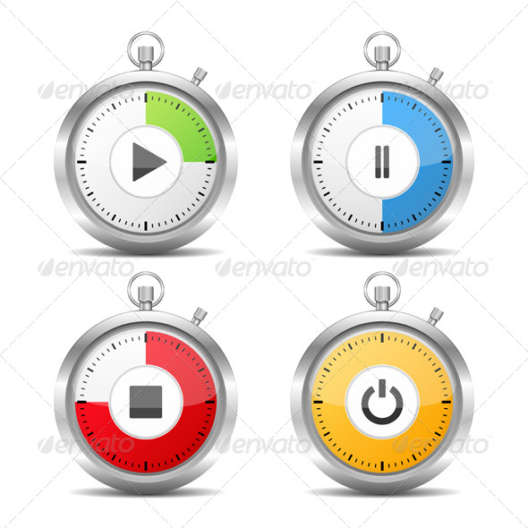 GraphicRiver Stopwatch 7471680