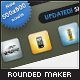 Rounded icon maker: generates gelly icons - GraphicRiver Item for Sale