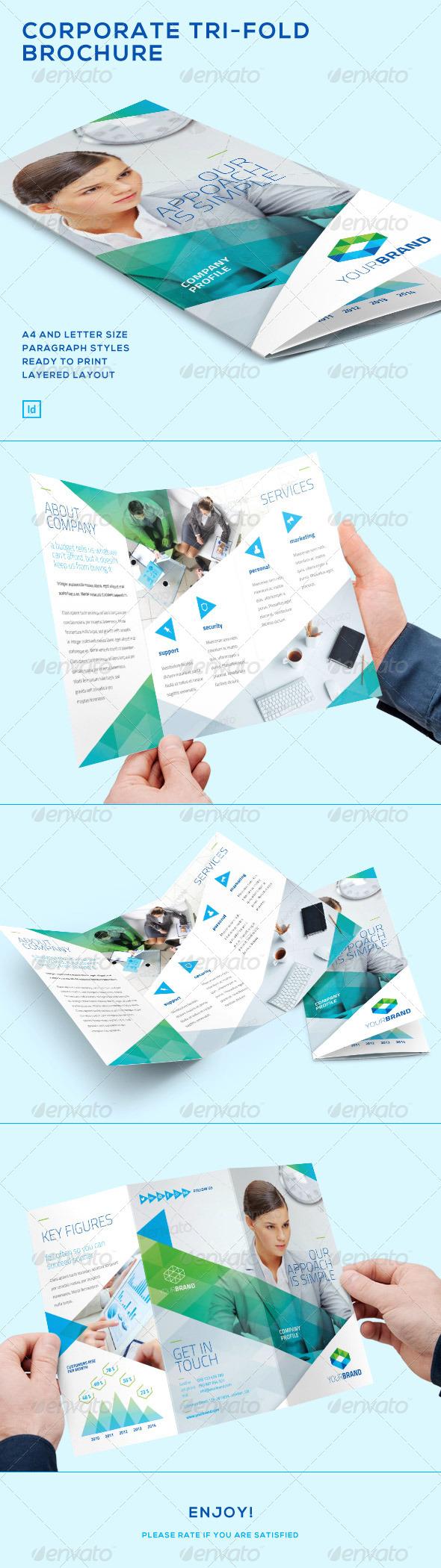 GraphicRiver Corporate Tri-Fold Brochure 7472221