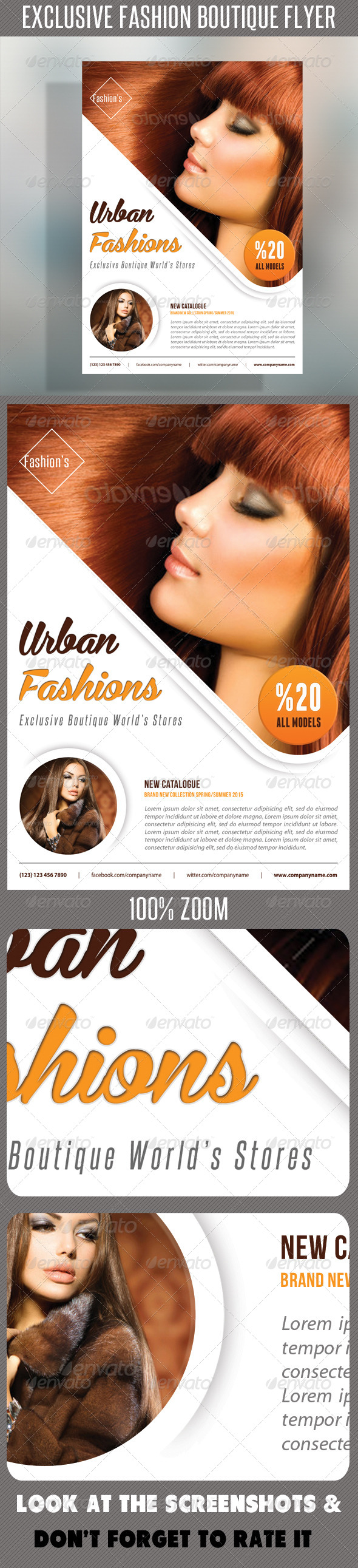 GraphicRiver Fashion Product Flyer 51 7472767