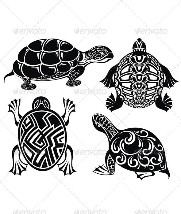 GraphicRiver Turtles 7474707