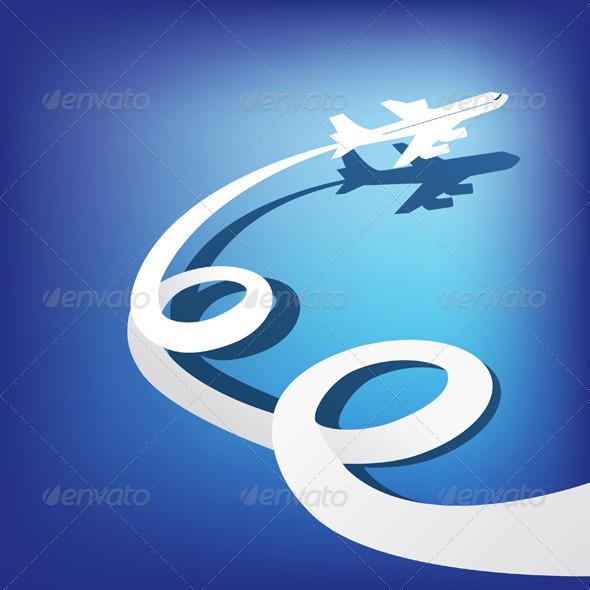 GraphicRiver Airplane 7474798