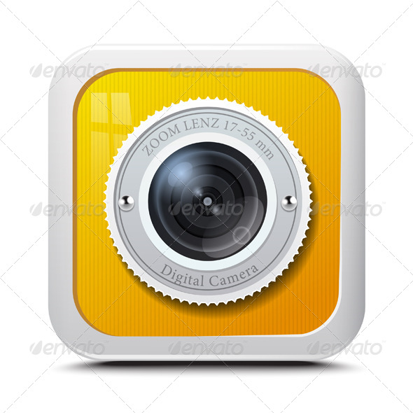 GraphicRiver Icon Camera Yellow 7474809