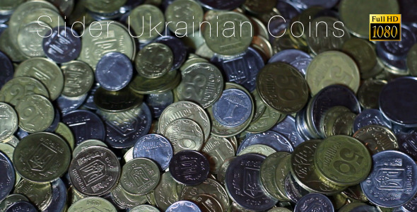 VideoHive Ukrainian Coins Inspection 7439828