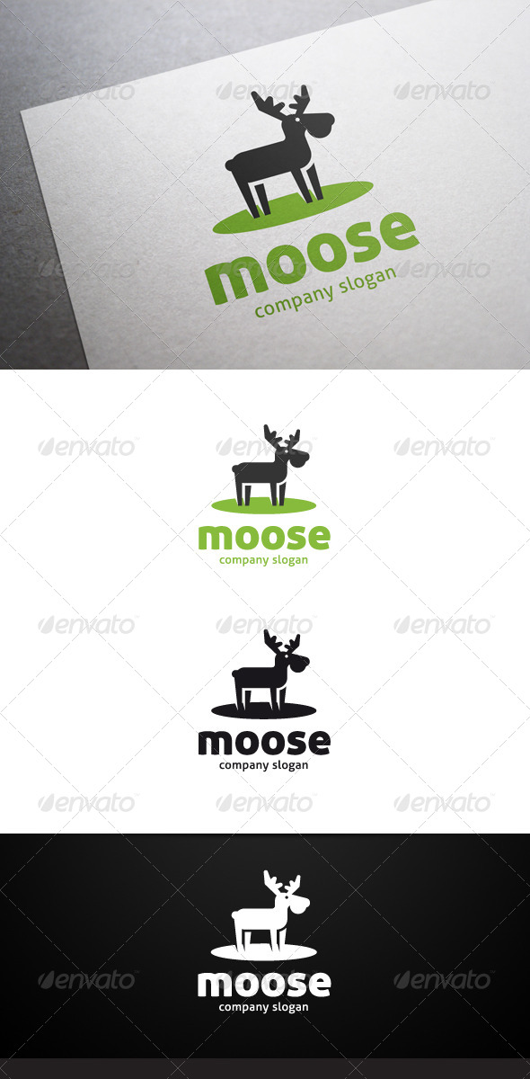 GraphicRiver Moose Logo 7474989