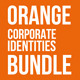 Orange Corporate Identities Bundle - GraphicRiver Item for Sale