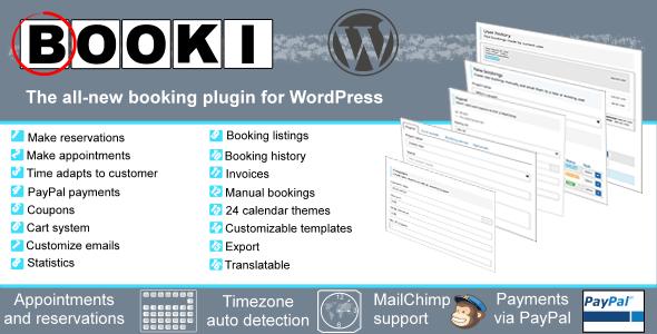 CodeCanyon Booki A booking plugin for WordPress 7460830